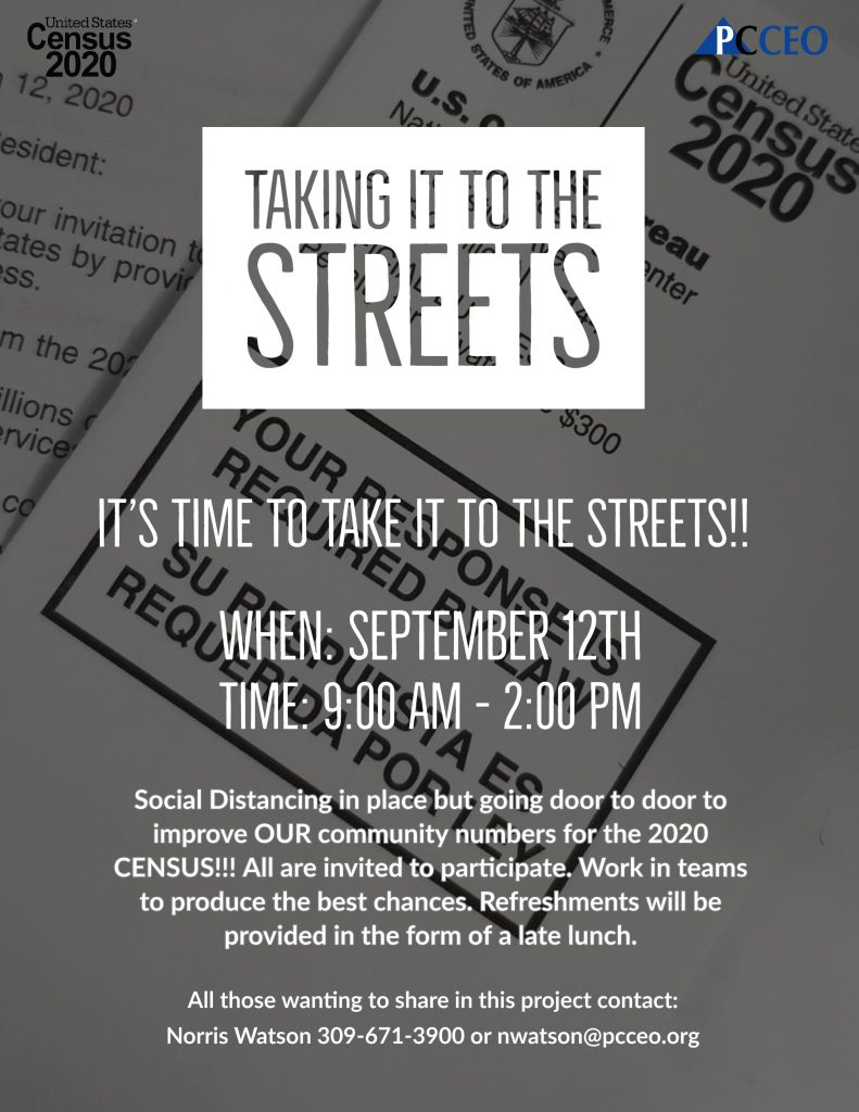 Taking It To The Streets Flyer