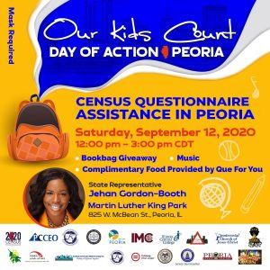 Our Kids Count Day of Action Flyer