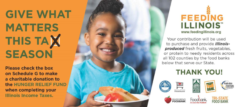 Hunger Relief Fund Tax Flyer